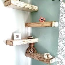 Shabby Chic Corner Shelves Cool Rustic Shelf Ideas Corner Floating Shelf Ideas Best Floating Corner