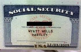 Social Security number still valid ...