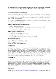 Resume Examples Templatesw To Write An Effective And Cover Letters