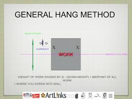general hang  on wall art hanging height with height to hang pictures on wall my web value