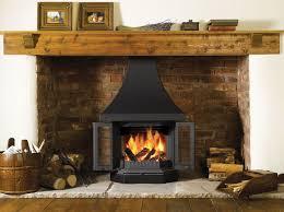 fireplaces around wood burning stoves