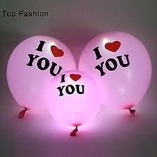jiada i love you led balloons multicolour pack of 5