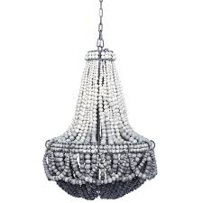 chandeliers and pendant lighting. Ombre Black Clay Beaded Chandelier Chandeliers And Pendant Lighting