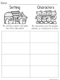 Free Setting And Character Printable Organizer Miss Decarbo