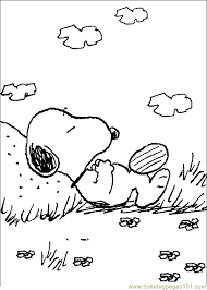 Small Picture Snoopy Coloring Page 15 Coloring Page Free Snoopy Coloring Pages