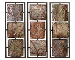 vines and foliage 3d wall hanging set of 3 metal wall art decorabstract  on abstract metal wall art canada with 93 best office art images on pinterest bureaus corporate offices