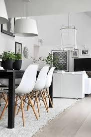 nowoczesne mieszkanie w stylu skandynawskim jadalnia