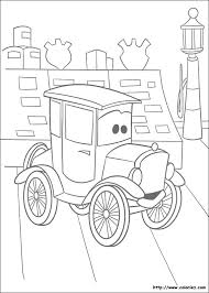 Cars 58 Animation Movies Printable Coloring Pages