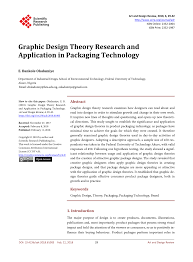 Design Theory Pdf Graphic Design Theory Research And Application In