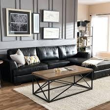 black sofa decor update the decor in your living room with this rich sectional sofa featuring black sofa decor