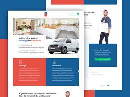 Dutch Website Design Website Design By Ivo Ruijters Around Seven On Dribbble