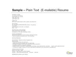 Free Resume Builder Online No Cost Mesmerizing Plain Text Resume Builder Set Up Basic How To Write High School