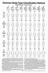 Body Type Chart Body Type Classification Method