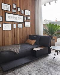 bed for office. Charcoal Day Bed And Frames - Kooyong Residence / Matt Gibson Architecture Like The Daybed For Office I
