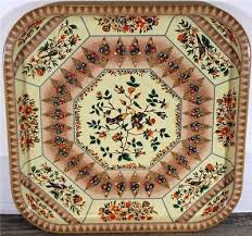 Daher Decorated Ware Tray Made In England Fascinating VINTAGE SQUARE DAHER Decorated Ware Tray 32 Made In England Birds
