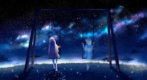 Tổng hợp hình ảnh anime galaxy phong cảnh đẹp nhất - Vector Free