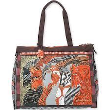 Bright Define Laurel Burch Moroccan Mares Travel Bag 20 By 9 By 16 Inch Bright