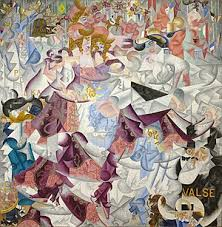 gino severini 1912 dynamic hieroglyphic of the bal tabarin oil on canvas with sequins 161 6 x 156 2 cm 63 6 x 61 5 in museum of modern art new york