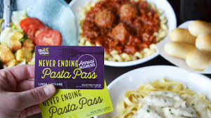 olive garden offers annual pasta