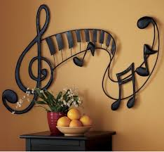 pretty sure i should paint something like this on my little music lover's  wall! | Dekorace | Pinterest | Metals, Walls and Room
