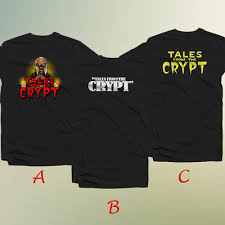 Tales From The Crypt Fictionaly Anthology Anime Mens T Shirt 100 Cotton Ebay