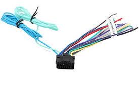 amazon com xtenzi wire harness plug full 16 pin car stereo for alpine stereo wiring diagram at Alpine Stereo Harness