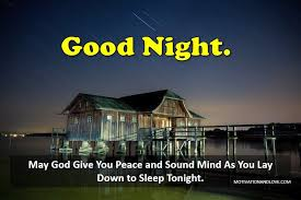 70 spiritual good night messages