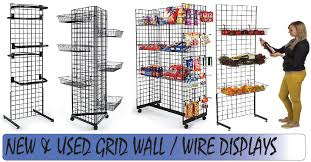 free standing grid panel displays are a great way for simple in organization and display now less fixtures