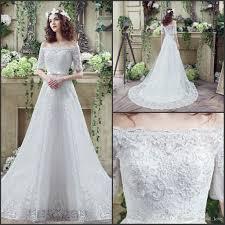 discount 2016 vestidos de novia simple bohemian lace wedding