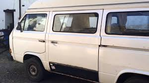 vw t25 chassis repair sliding door rust surprises part 30 you