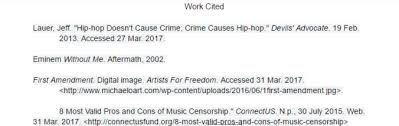 evolution of rap and hip hop work cited argumentitve essay on censorship