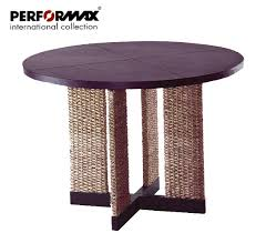 water hyacinth round dining table circular table contemporary furniture custom made