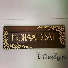 70 modern and affordable diy door name plates ideas