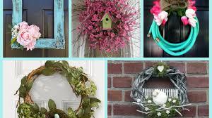 Spring Decorating Spring Wreaths Ideas Spring Decorating Ideas Diy Wreath Ideas