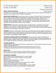 Usa Jobs Resume Writer Usajobs Resume Example Unique 24 Military To Civilian Resume Examples 19