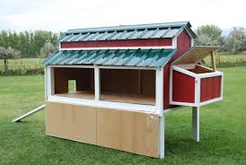 Free Plans for an Awesome Chicken Coop   The Home DepotChicken coop   hinged sides that make cleaning easier