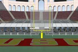Coliseum Renovation Seating Chart Usc Stadium Seating Rams Seating Guide Memorial Coliseum