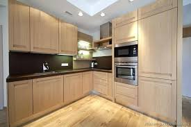 Kitchen Colors With Light Wood Cabinets Cool Inspiration Design