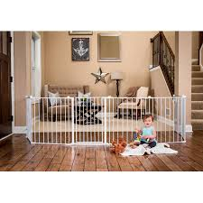 regalo inch super wide configurable baby gate and panel play