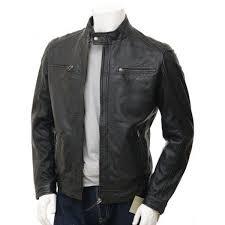 ing patterned designer men s leather jacket biker fashions slim fit ms