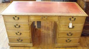 victorian light oak partners desk