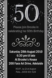 50th Birthday Invitation Ideas You Get Ideas From This Site