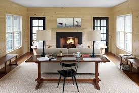 Home design living room country Cozy Modern Country Getaway Country Living Magazine Modern Country Decor Ideas Modern Connecticut Vacation Home