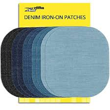 15 Pack Nylon Repair Patches <b>Self Adhesive Waterproof Patch</b> ...