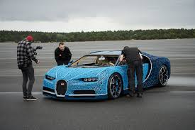339 different types of lego technic elements were used to make the model. Lego Built A Life Size Technic Bugatti Chiron That Actually Drives News The Brothers Brick The Brothers Brick