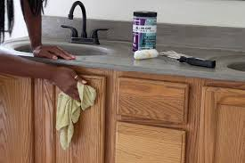 cleaning cabinet before beyond paint