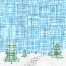 Christmas Card Linen Template Stock Vector Image