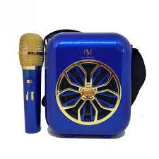 Loa karaoke bluetooth YS-A20 chính hãng tặng kèm 01 micro ko dây - Dàn âm  thanh Nhãn hàng No Brand