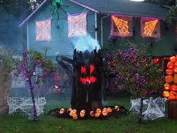 Outdoor Light Up Halloween Tree Creative Halloween Decorations Lights For Night