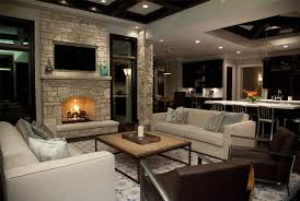 Traditional-Living-Room-by-Oakley-Home-Builder How To Decorate